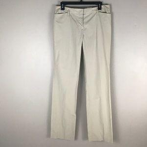 NWT LOFT marissa beige dress pants size 8